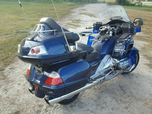 Honda Gl Salvage Motorcycle For Sale